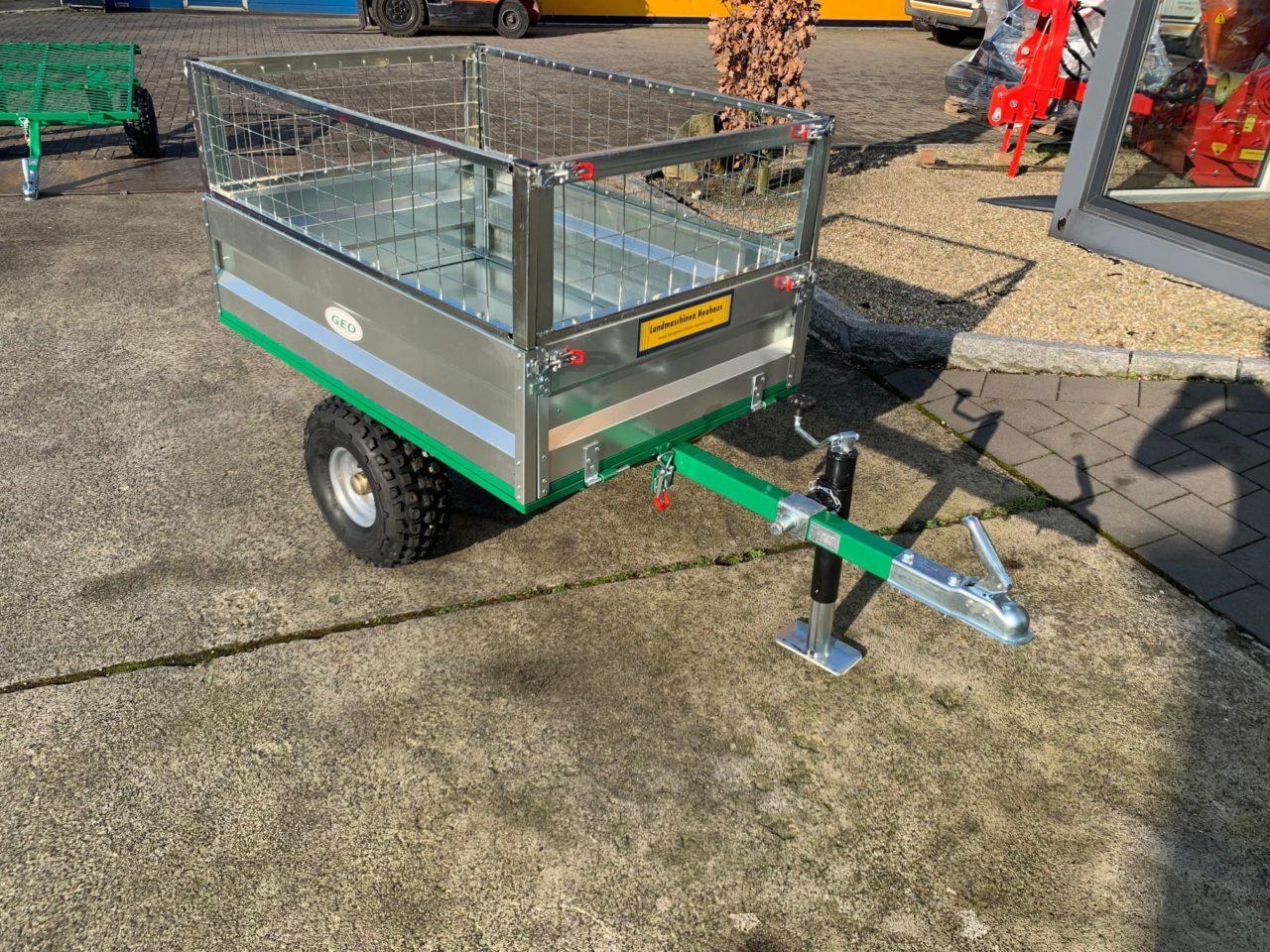 Anhänger für ATV mit Gitterbordwandaufsatz Modell PV 400