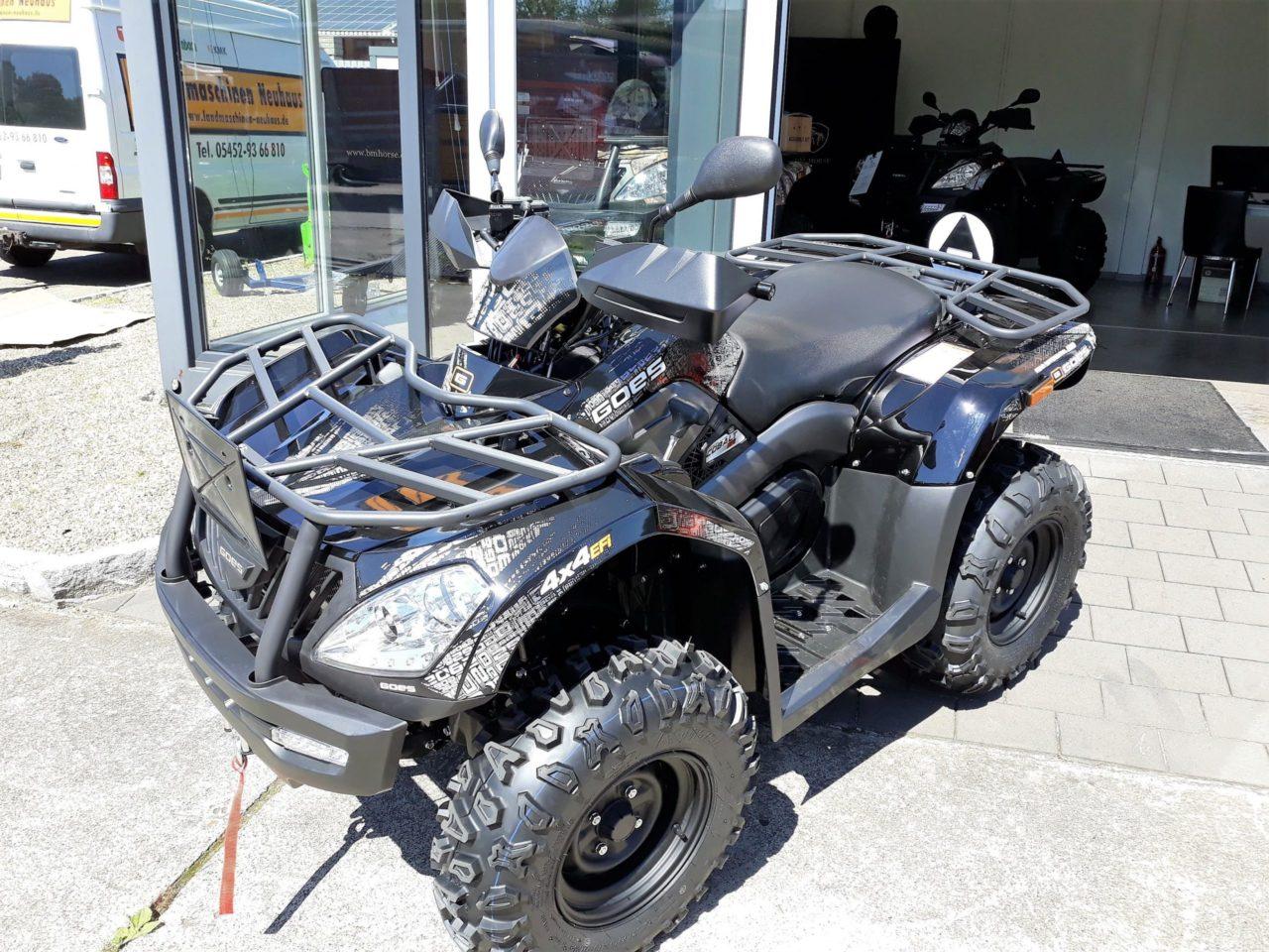 ATV / Quad GOES Cobalt Black Allrad 37 PS 495 ccm Zulassung