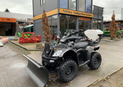 ATV Quad GOES Iron Allrad 27 PS 400 ccm Winterdienst Zulassung (1)