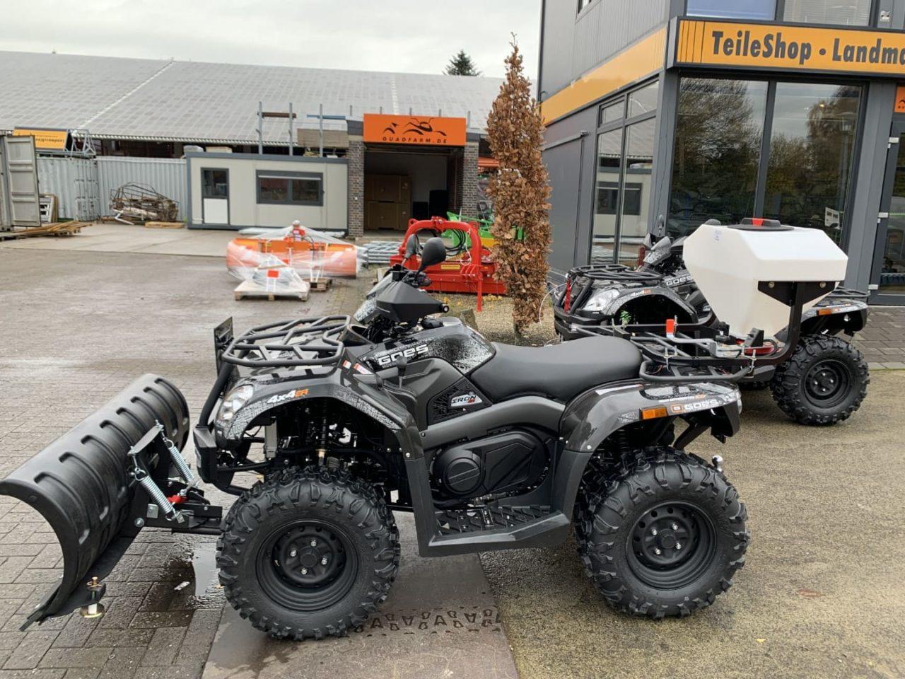 ATV / Quad GOES Iron, Allrad 27 PS, 400 ccm, Winterdienst, Zulassung