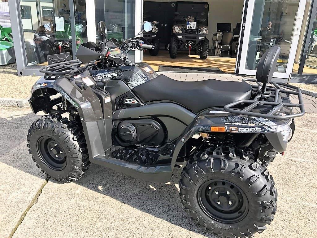 ATV / Quad GOES Iron MAX, Allrad 27 PS, 400 ccm, Zulassung