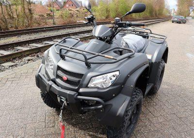ATV Quad Kymco MXU 450i 4×4 30PS 443 ccm LOF-Zulassung (8)