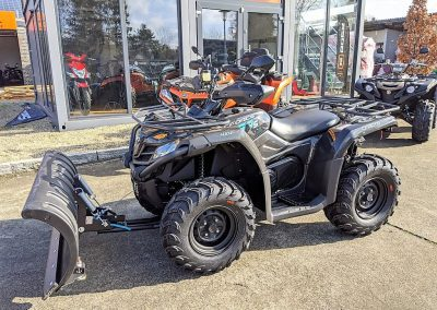 ATV Quad Modell CFMOTO CForce 450 One EFI 4×4 27 PS 400 ccm LOF Schneeschild (3)