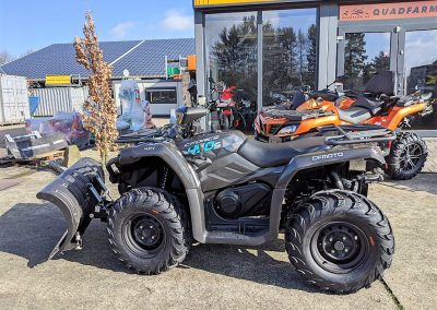 ATV Quad Modell CFMOTO CForce 450 One EFI 4×4 27 PS 400 ccm LOF Schneeschild (6)
