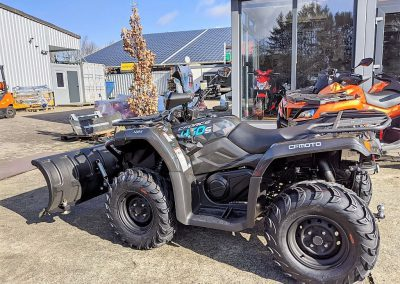 ATV Quad Modell CFMOTO CForce 450 One EFI 4×4 27 PS 400 ccm LOF Schneeschild (7)