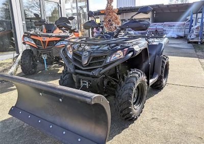 ATV Quad Modell CFMOTO CForce 450 One EFI 4×4 27 PS 400 ccm LOF Schneeschild (9)