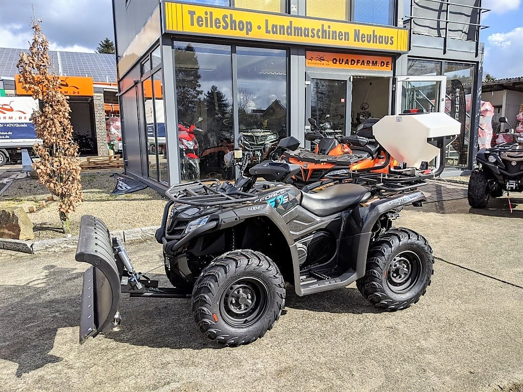 ATV / Quad Modell CFMOTO CForce 450 One EFI 4×4, 27 PS, 400 ccm, LOF, Winterdienst