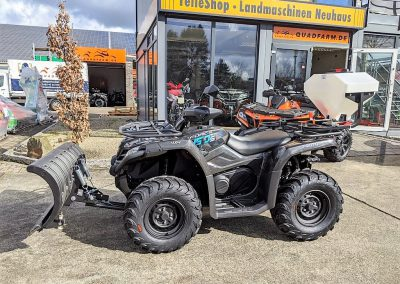 ATV Quad Modell CFMOTO CForce 450 One EFI 4×4 27 PS 400 ccm LOF Winterdienst (3)