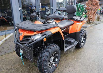 ATV Quad Modell CFMOTO CForce 520 EFI 4×4 Orange Version 37 PS 495 ccm LOF Zulassung (3)