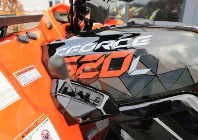ATV Quad Modell CFMOTO CForce 520 EFI 4×4 Orange Version 37 PS 495 ccm LOF Zulassung (9)