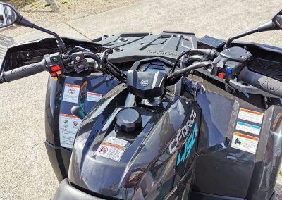 ATV Quad Modell CForce 450 S EFI 4×4 DLX 27 PS 400 ccm LOF Zulassung langer Radstand (11)