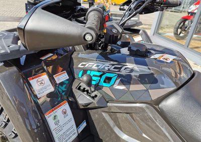ATV Quad Modell CForce 450 S EFI 4×4 DLX 27 PS 400 ccm LOF Zulassung langer Radstand (4)