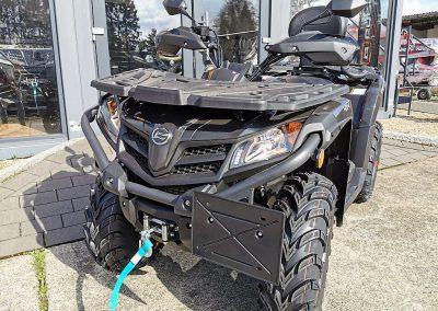 ATV Quad Modell CForce 450 S EFI 4×4 DLX 27 PS 400 ccm LOF Zulassung langer Radstand (9)