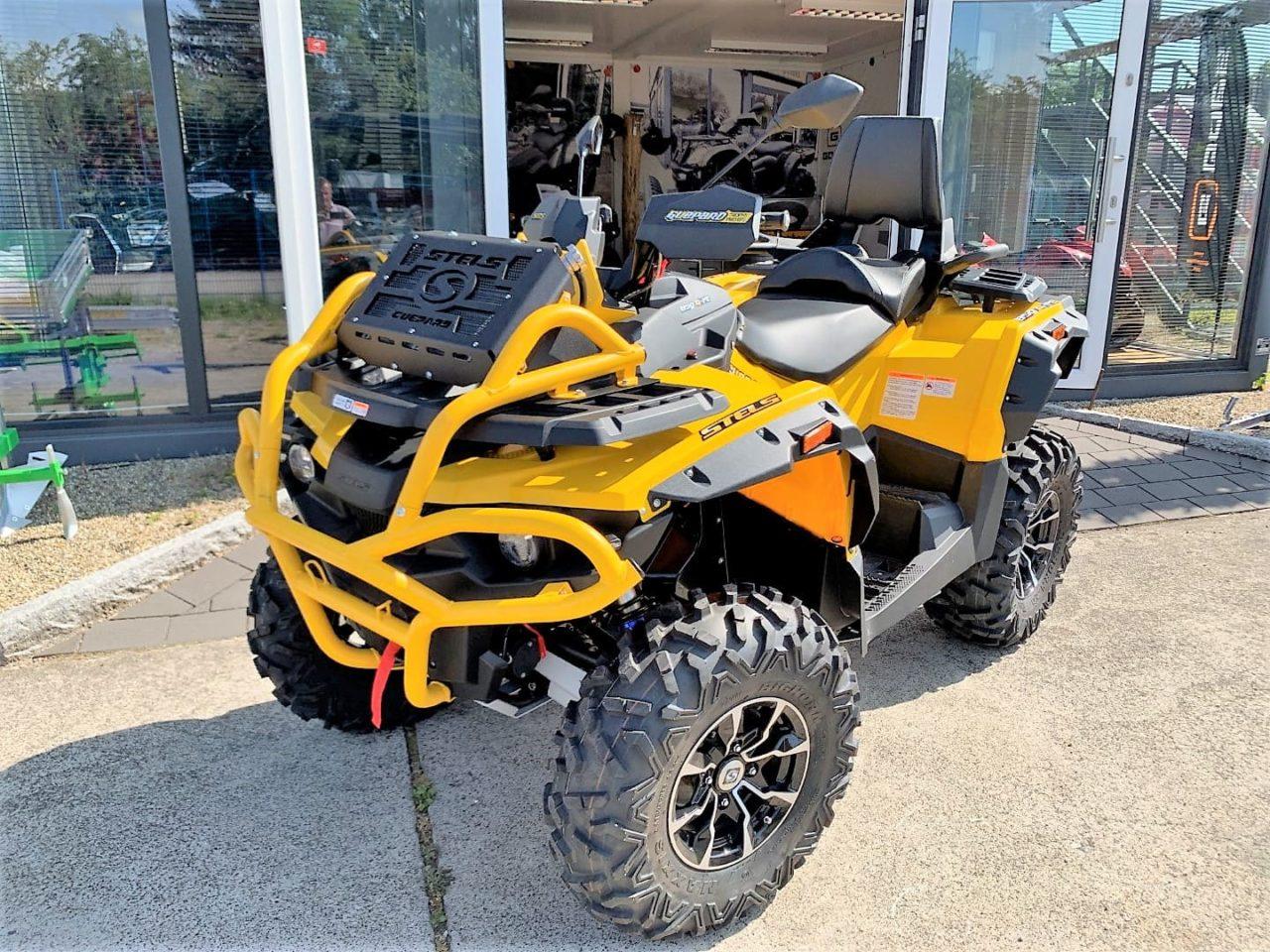 ATV / Quad Stels Guepard 850 G, 68 PS, 850 ccm, Frontbumper, LOF Zulassung