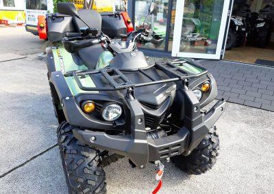 ATV Quad Stels Leopard, 39 PS, 594 ccm, incl. Koffer und LOF-Zulassung (5)