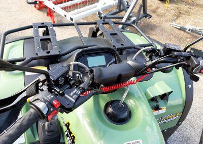 ATV Quad Stels Leopard, 39 PS, 594 ccm, incl. Koffer und LOF-Zulassung (7)