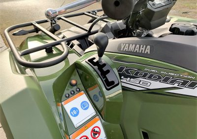 ATV Quad Yamaha Kodiak 450 38 PS 421 ccm inkl LOF (9)