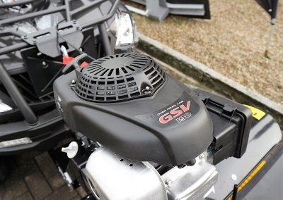 Anbaukehrmaschine für ATV Quad mit Honda – Motor (6)