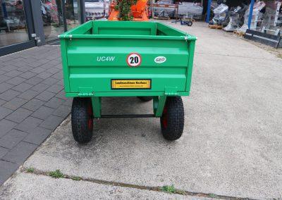 Anhänger Fabrikat GEO Modell UC für Kleintraktoren ATV Quad etc (2)
