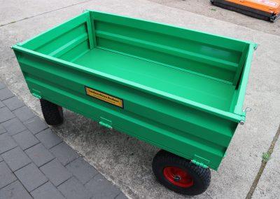 Anhänger Fabrikat GEO Modell UC für Kleintraktoren ATV Quad etc (4)