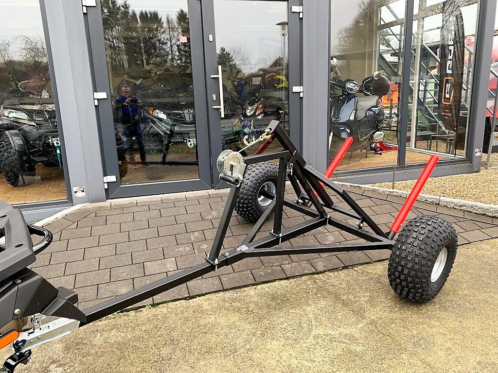 Ballenanhänger für ATV / Quad