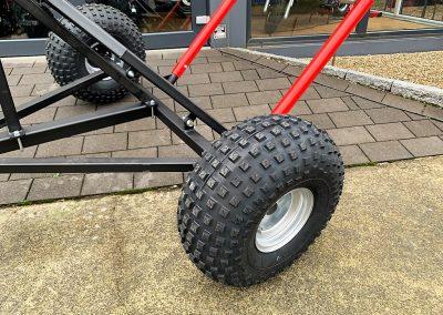 Ballenanhänger für ATV Quad (5)