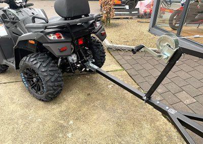 Ballenanhänger für ATV Quad (8)