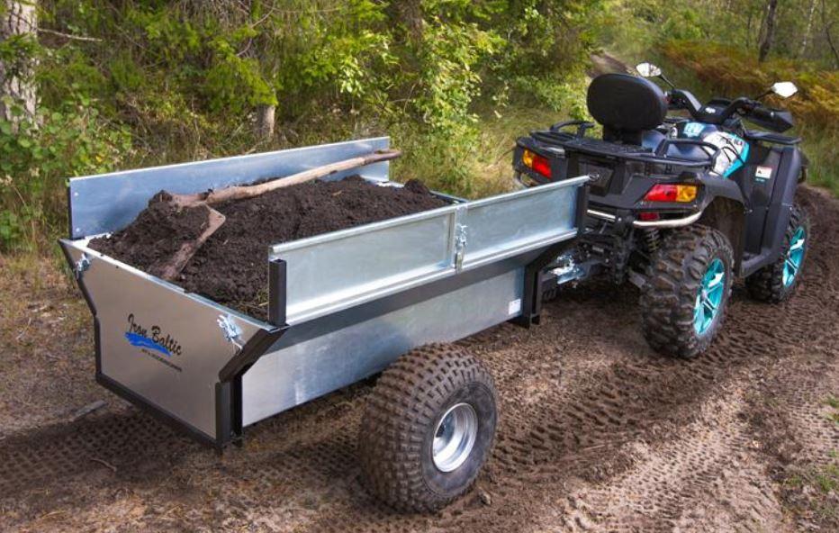 Quad / ATV -Anhänger Basic 500 mit Kippfunktion