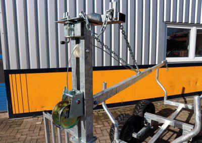 Holzrückewagen Rückewagen für ATV Quad (3)