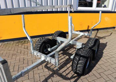 Holzrückewagen Rückewagen für ATV Quad (4)