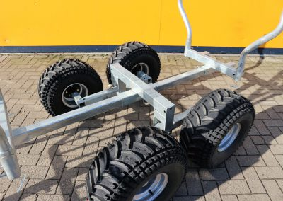 Holzrückewagen Rückewagen für ATV Quad (5)