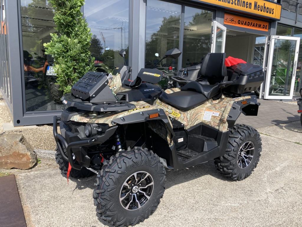 ATV / Quad Stels Guepard 850 G, 68 PS, 850 ccm, LOF Zulassung, Koffer, Zusatztank