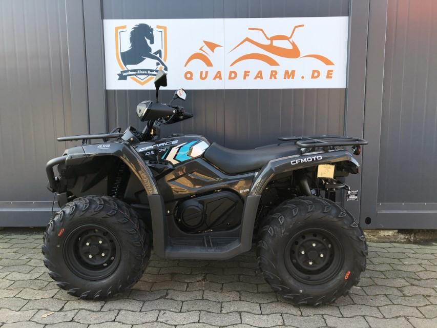 ATV / Quad Modell CFMOTO CForce 450 One EFI 4×4, 27 PS, 400 ccm, LOF Zulassung, Modell 2021