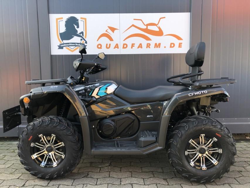 ATV / Quad Modell CForce 450 S EFI 4×4 DLX, 27 PS, 400 ccm, LOF Zulassung, langer Radstand, Modell 2021