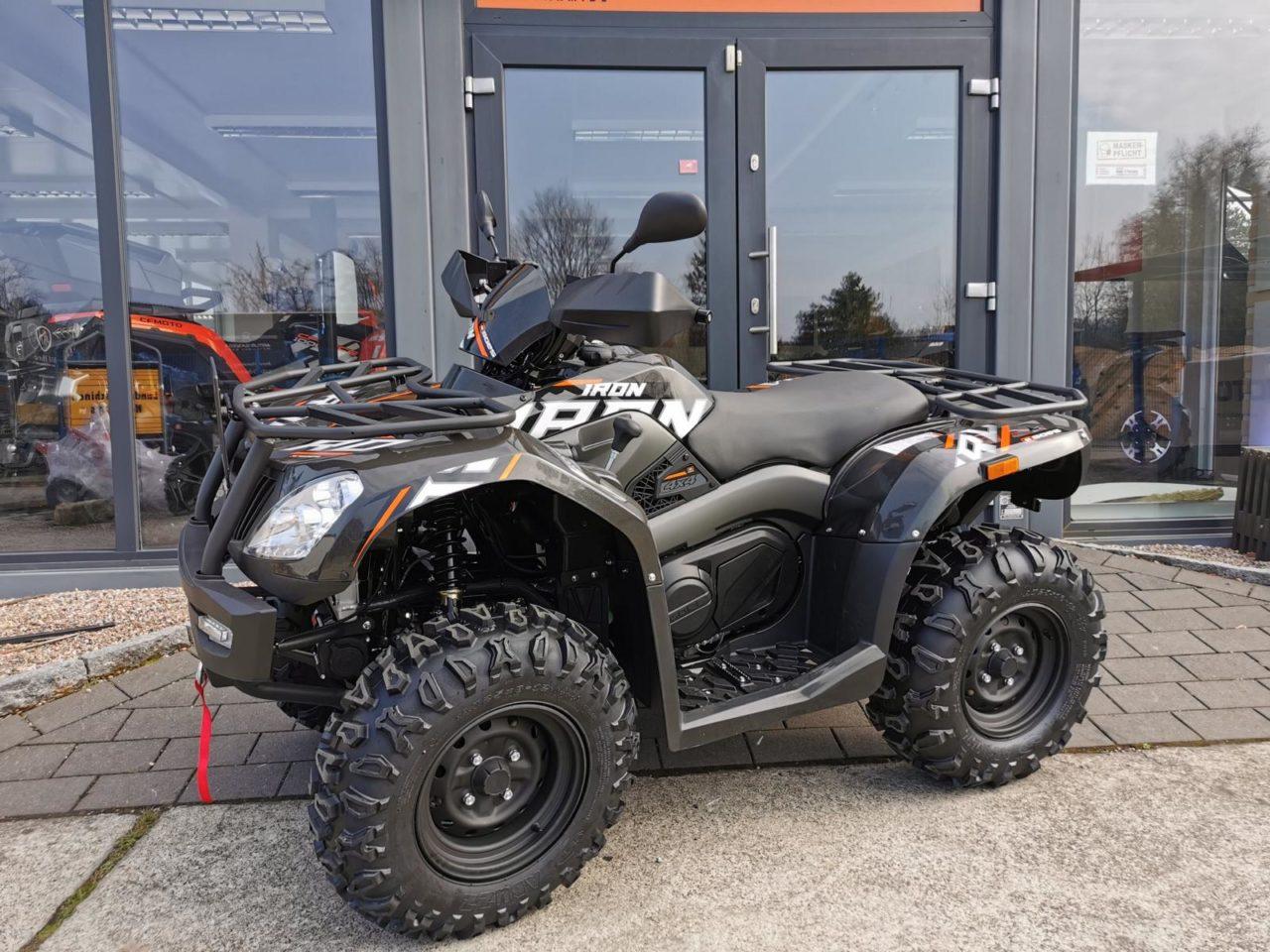 ATV / Quad GOES Iron, Allrad 27 PS, 400 ccm, EPS, Zulassung
