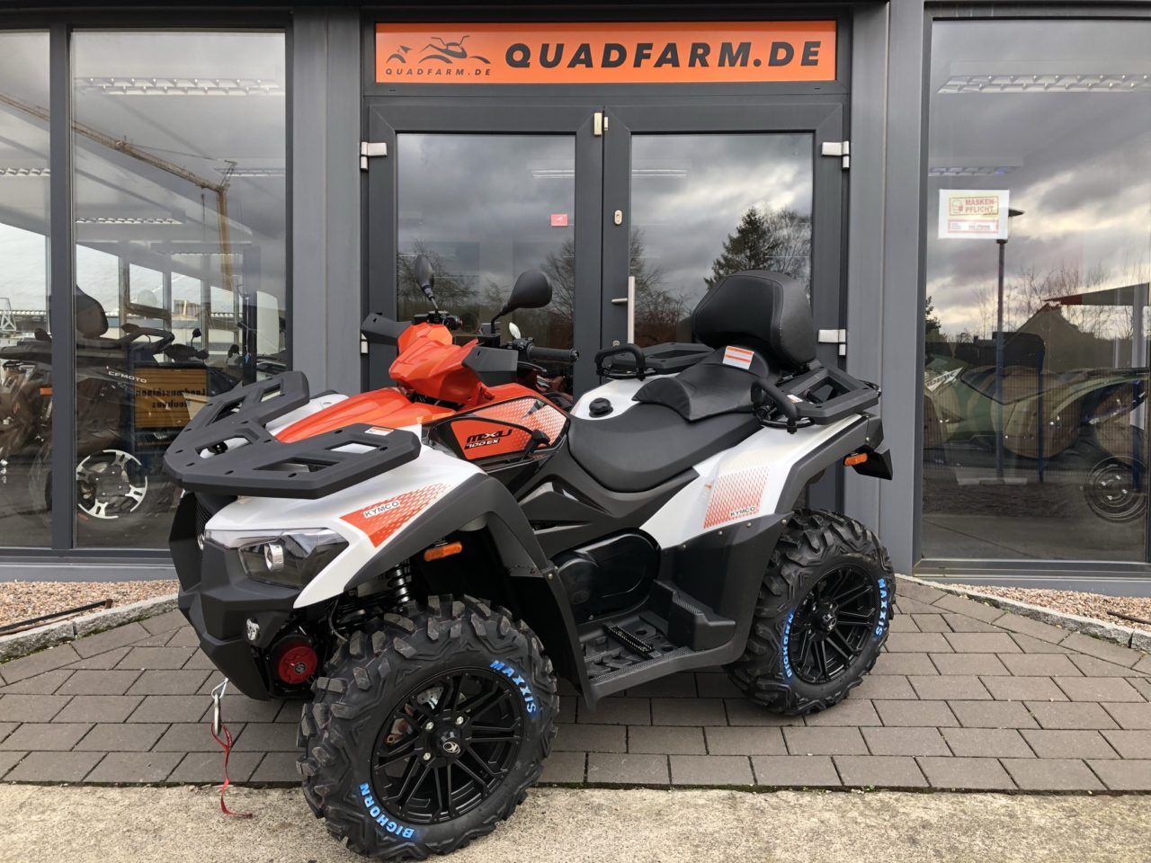 ATV / Quad Kymco MXU 700i T EPS, ABS, Servo, 4×4, 48 PS, 695 ccm