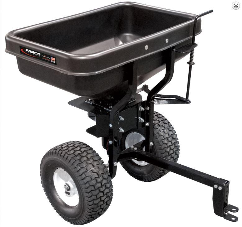 Salz- u. Düngersteuer für ATV / Quad, gezogen, 12 Volt Antrieb