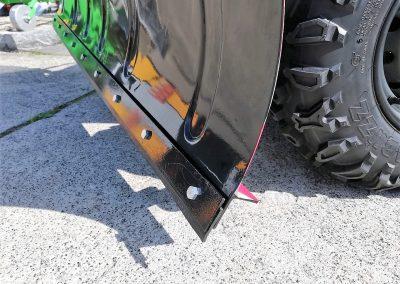 Schneeschild 1.500 mm für ATV Quad, incl. Adapterplatte und Schubgestell (2)