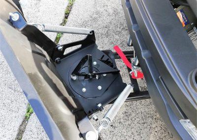 Schneeschild 1.500 mm für ATV Quad, incl. Adapterplatte und Schubgestell (3)