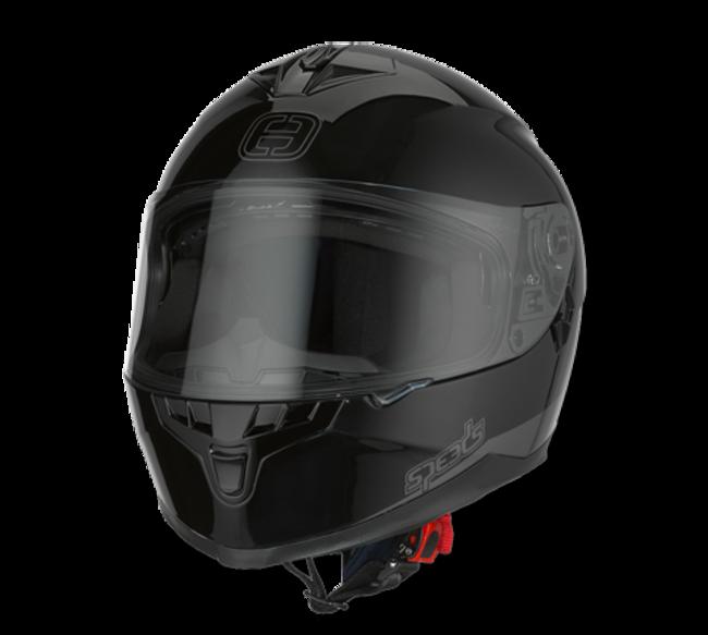 Helm Speeds Race II schwarz glänzend Gr. L