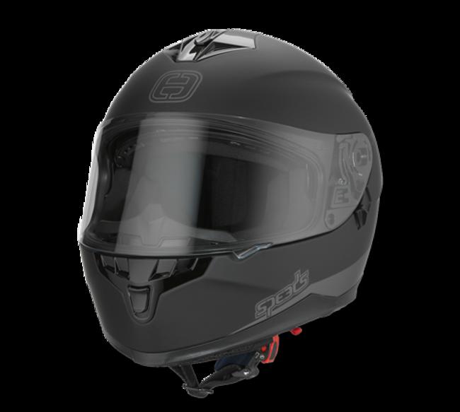 Helm Speeds Race II schwarz matt Gr. XXL
