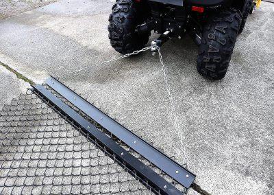 Wiesenschleppe für ATV Quad, 1.500 mm Arbeitsbreite (1)