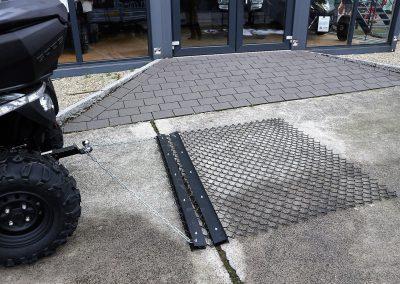 Wiesenschleppe für ATV Quad, 1.500 mm Arbeitsbreite (5)