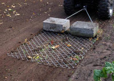 Wiesenschleppe für ATV Quad, 1.500 mm Arbeitsbreite (6)