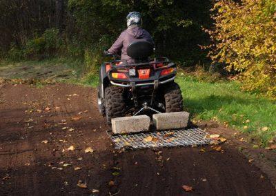 Wiesenschleppe für ATV Quad, 1.500 mm Arbeitsbreite (7)