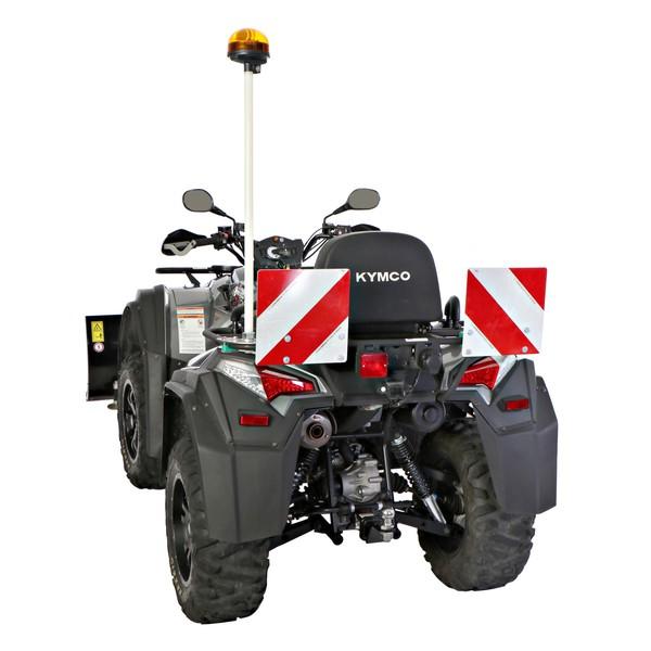 Winterkit / Sicherheitskennzeichnungen für Kymco MXU ATV / Quad