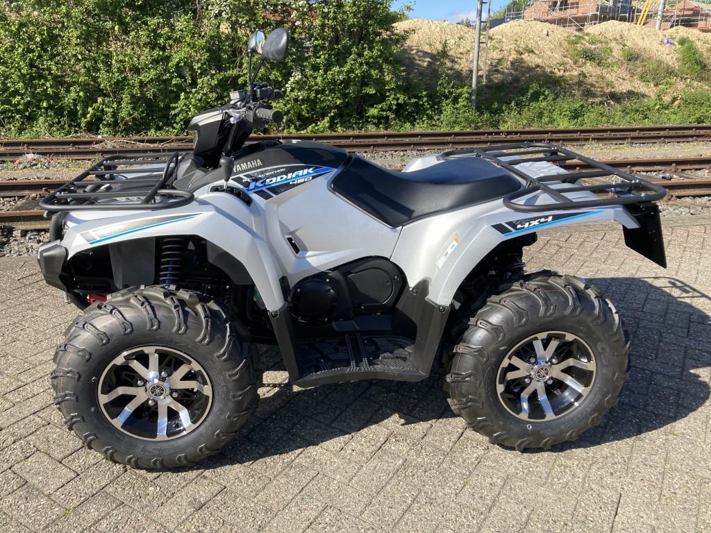 ATV / Quad Yamaha Kodiak 450 Silver, Servo, 38 PS, 421 ccm, inkl. LOF