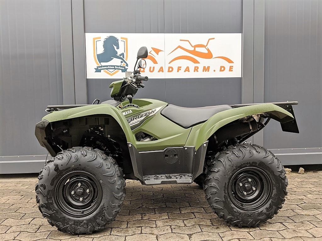 ATV / Quad Yamaha Grizzly 700 EPS, 49 PS, 686 ccm, inkl. LOF Straßenzulassung