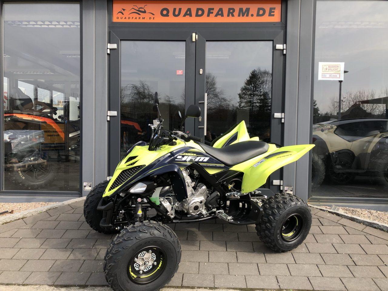 ATV / Quad Yamaha Raptor YFM 700 R inkl. LOF