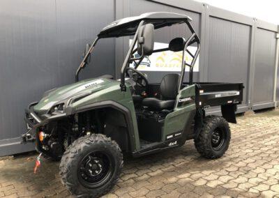Trooper 800 Diesel grün
